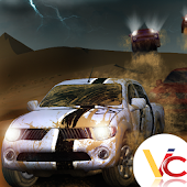 3D desert race