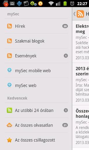 mySec - News Portal HU