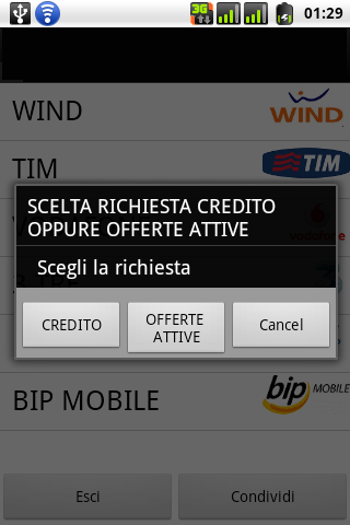 Verifica Credito Sim- screenshot