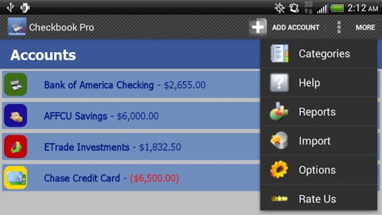 Checkbook Pro- screenshot thumbnail