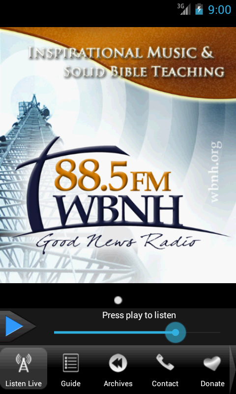 WBNH Radio- screenshot