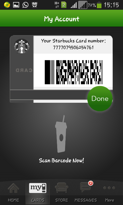 Starbucks Malaysia - screenshot
