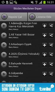 TTNET Müzik- screenshot thumbnail