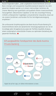 Bank Austria e-Magazine – Miniaturansicht des Screenshots