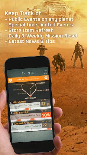Destiny Public Events Tracker 3.3 screenshots 1