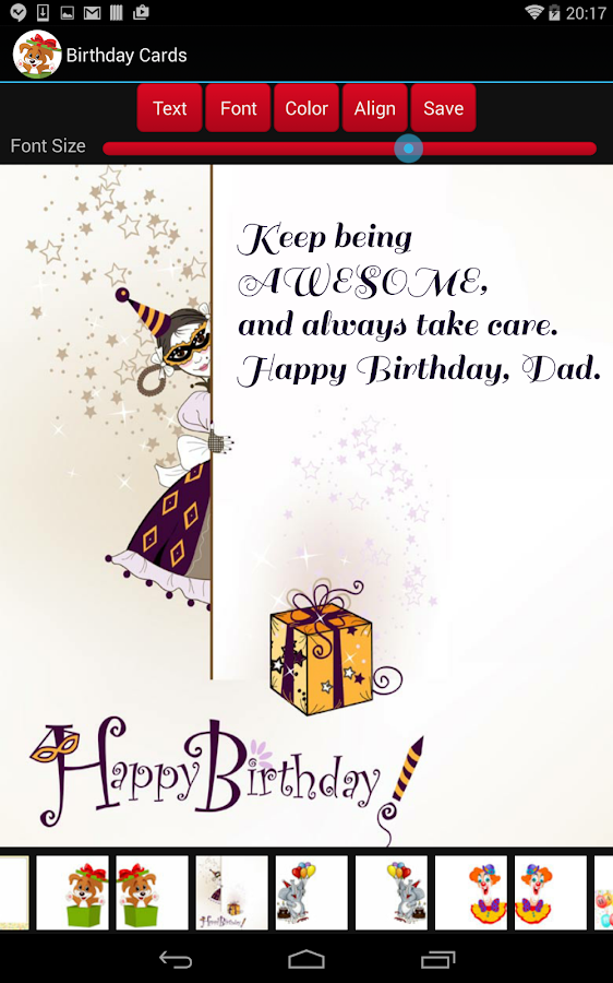 Birthday Cards Android Apps on Google Play – App for Birthday Cards