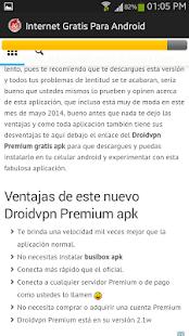 internet 3G gratis en android