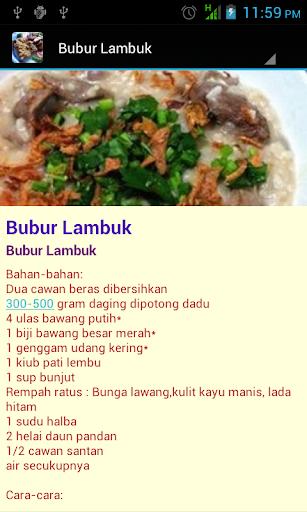 Resepi Masakan Mudah