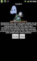 Screenshot of Cussbot
