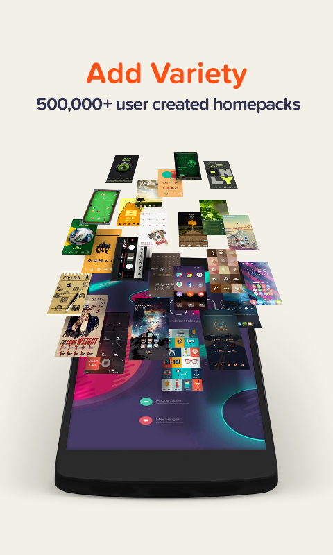 Buzz Launcher-Smart&Free Theme screenshot #2