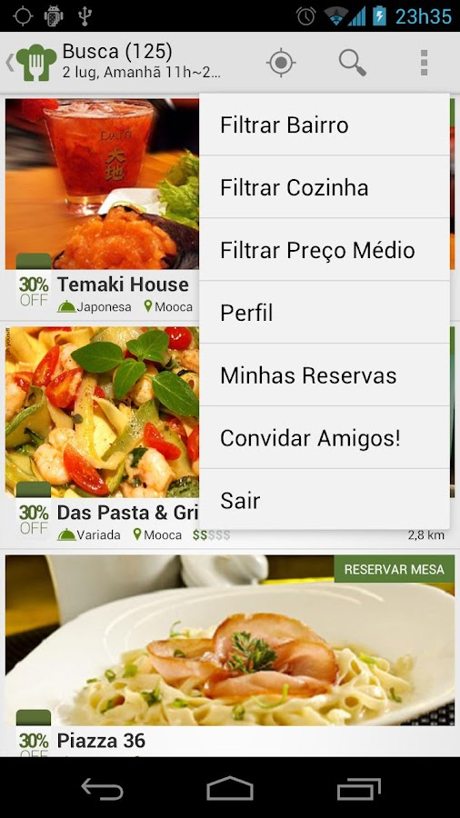 Grubster - Restaurantes 30%OFF - screenshot
