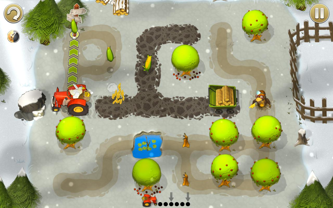 Tractor Trails- screenshot