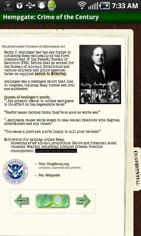 Hempgate Files- screenshot