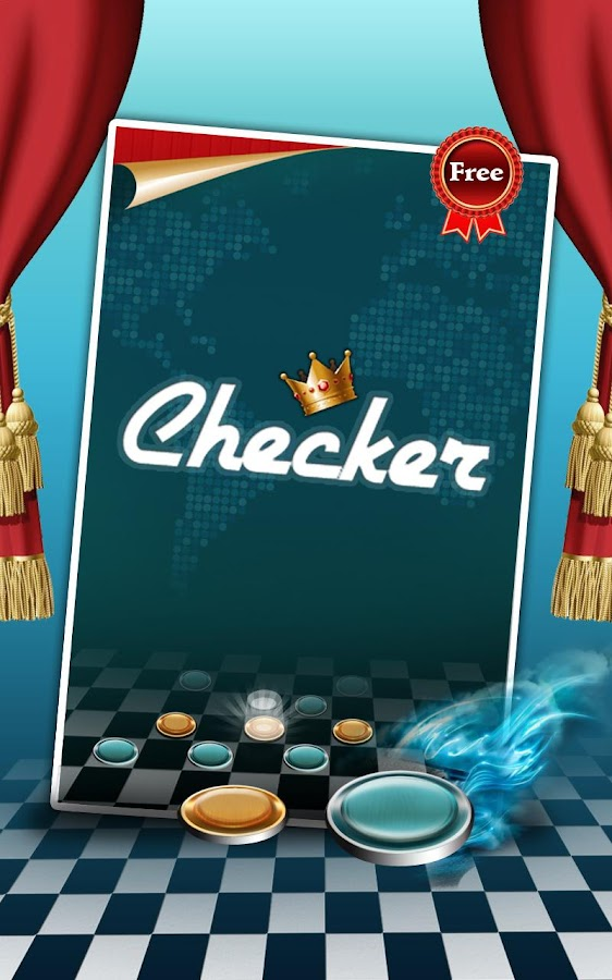Checkers Game Free - screenshot