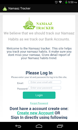 Namaaz Tracker Free