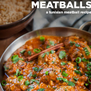 Mediterranean Meatballs, a lamb meatball recipe with Tunisian spices.