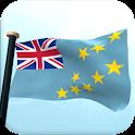 Tuvalu Bandera 3D Gratis icon