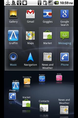 NetFront Life Screen V2 - screenshot