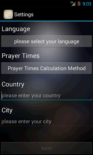 Quran prayer times athan azan