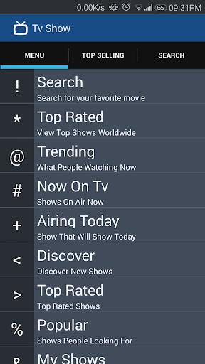 Tv Show Tracker - todo TV