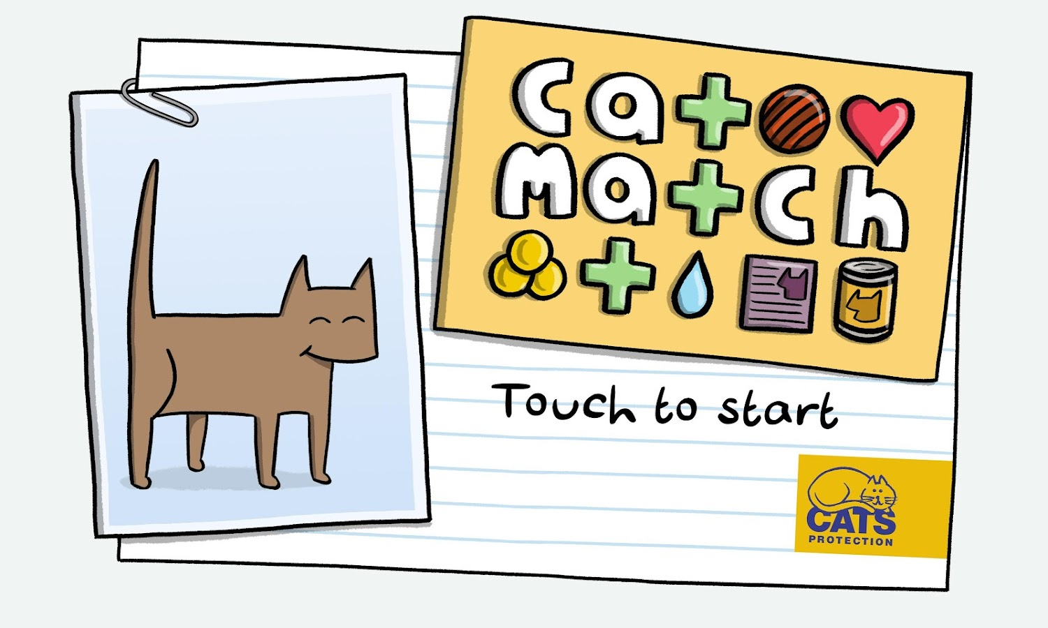 Cat Match from Cats Protection- screenshot