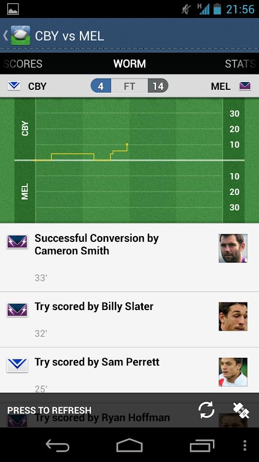Nrl League Live Android Apps On Google Play