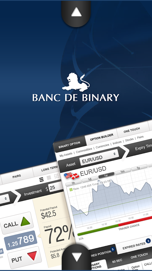 Banc De Binary Trading App - screenshot