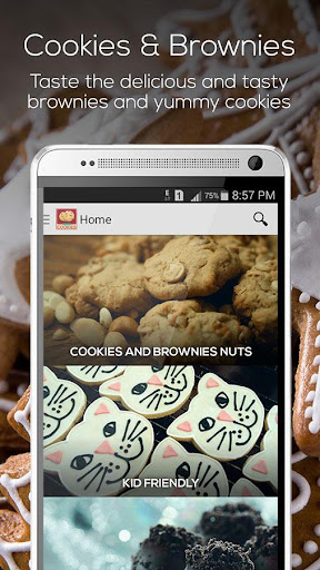 餅乾和布朗尼