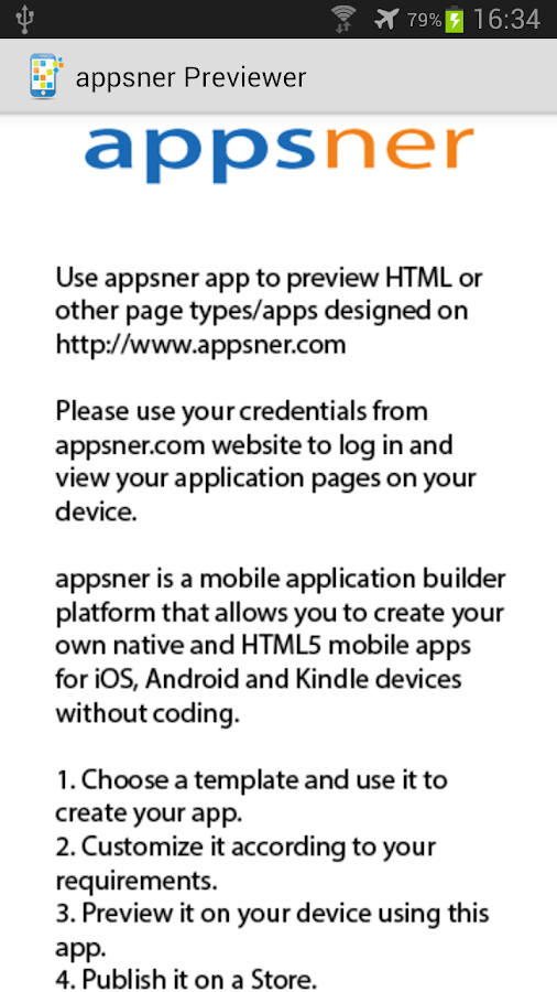 appsner Previewer- screenshot