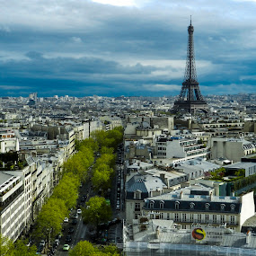 by Titus Criste - City,  Street & Park  Skylines ( eiffel tower, paris, france, nikon, p500,  )