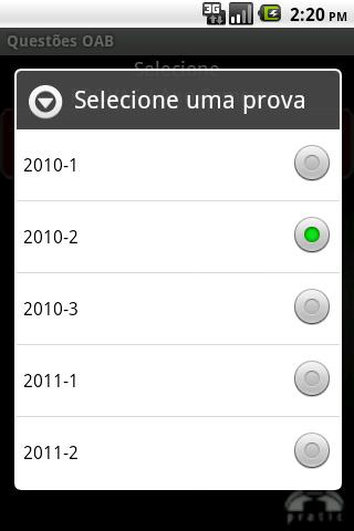 Questões OAB- screenshot