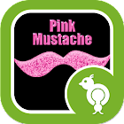 Go Locker Pink Mustache icon