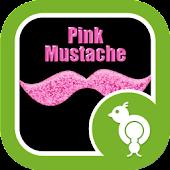 Go Locker Pink Mustache