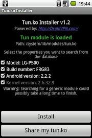 TUN.ko Installer Screenshot 1