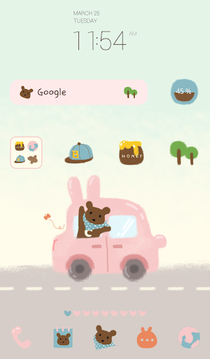 rabbit car dodol theme