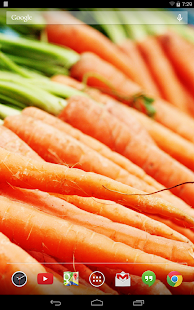 Tasty Veggies Live Wallpaper- screenshot thumbnail