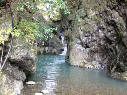 美霞洞渓谷