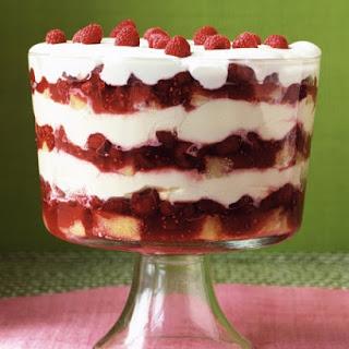 Grand Raspberry Trifle.