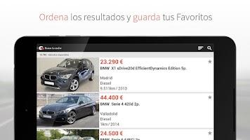 Screenshot of coches.net: anuncios de coches