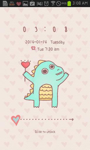 YongYong Love go locker theme