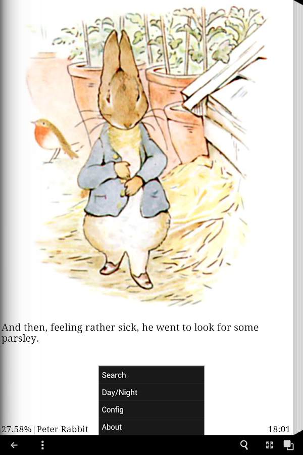 Peter Rabbit eBook App- screenshot