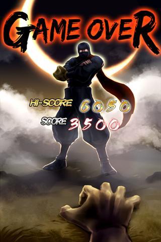 Homerun Ninja - screenshot
