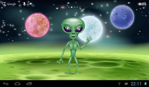 有趣的談話外星人