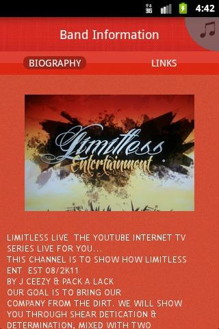 Limitless Entertainment - screenshot