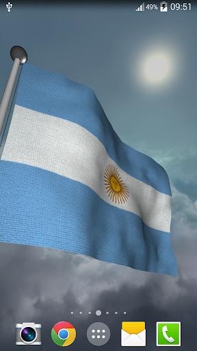 Argentina Flag - LWP