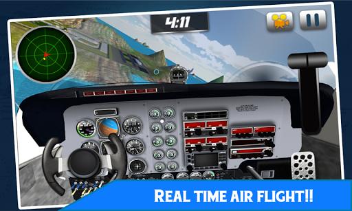 항공 비행 시뮬레이터 비행 비행기