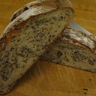 Wild Rice & Green Onion Bread