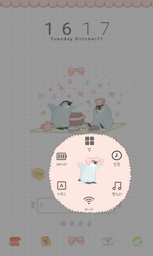 無料个人化Appのペンギンブラザーズ(遠足)ドドルランチャーのテーマ|記事Game