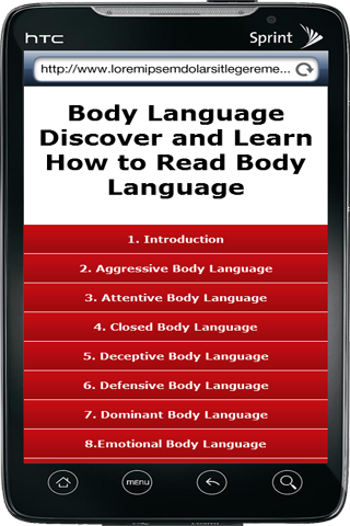 Read Others Body Language