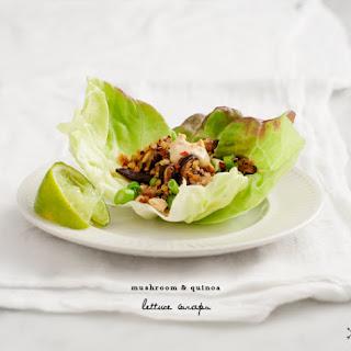 Mushroom & Quinoa Lettuce Wraps